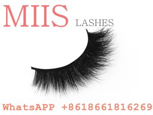 customized real sable fur eyelashes
